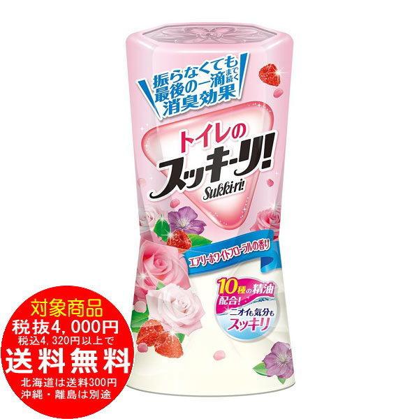 トイレのスッキーリ エアリーホワイトフローラルの香り 400mL