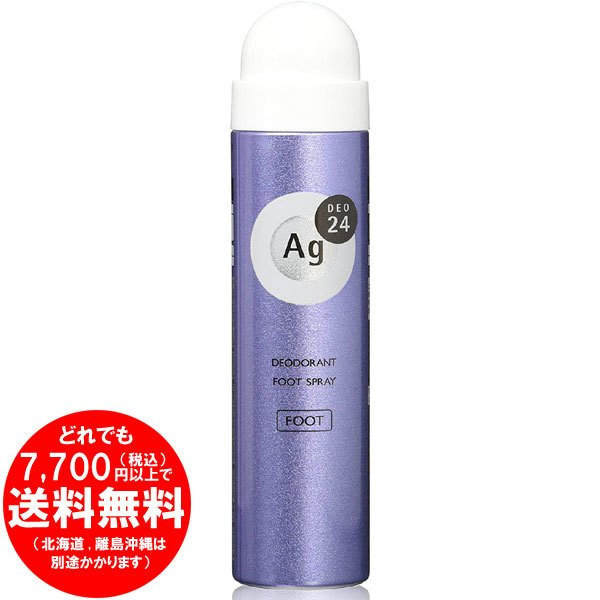 エージーデオ24 フットスプレー 無香料 40g (医薬部外品)