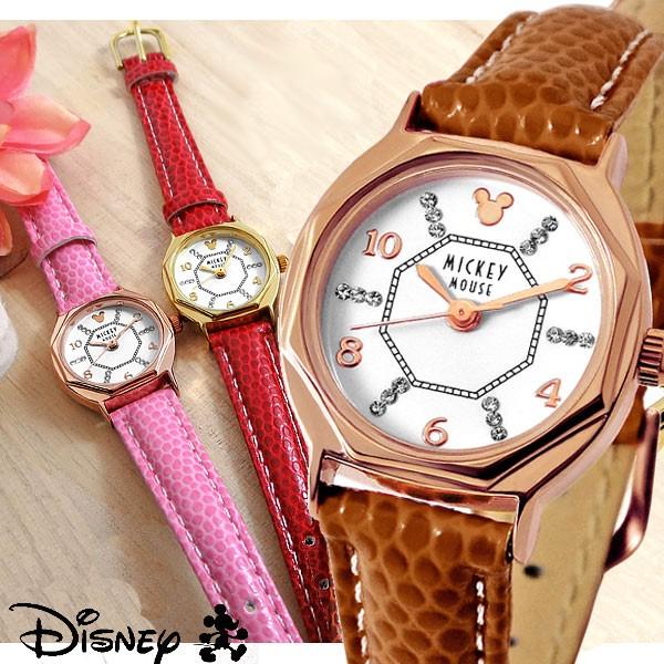 ミッキー 八角形腕時計 NFC130543