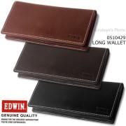 EDWIN(エドウイン) 牛革長財布 0510429