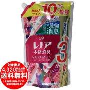 レノア 本格消臭 柔軟剤 スポーツ スプラッシュリリー 詰替え 超特大 10%増量 1390mL[f]