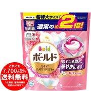 【完売】洗濯洗剤 ジェルボール3D 柔軟剤入り ボールド 癒しのプレミアムブロッサム つめかえ 34個 超特大サイズ (656g)