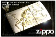 zippo オイルライター ラブメッセンジャー LM-SGP