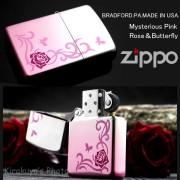 zippoミステリアスローズ&バタフライMP2-RP