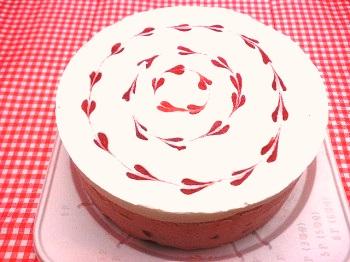 アレルギー対応ケーキ苺ミルク ホールケーキ