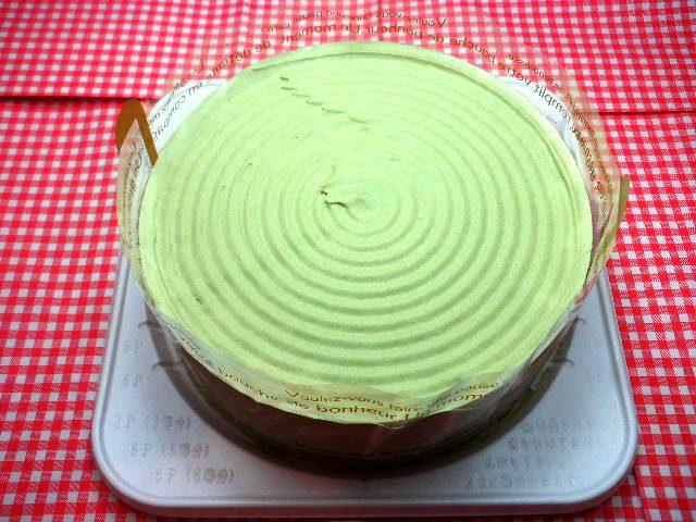 アレルギー対応ケーキ抹茶あずきホールケーキ