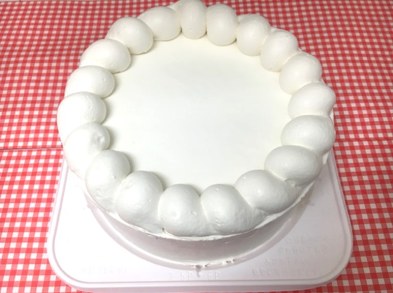 米粉 クリーム ホールケーキ