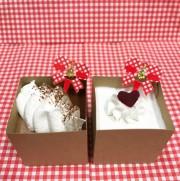 クリスマス限定キューブケーキセット (卵、乳、小麦アレルギー対応)