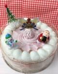 クリスマス限定米粉クリームホールケーキ