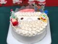 クリスマス限定クリームホールケーキ