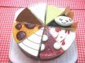 アレルギー対応ケーキ 8種類ケーキ