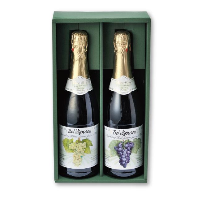 PV-0001 ノンアルコール スパークリングワイン ベル ヴィニョー 赤・白セット