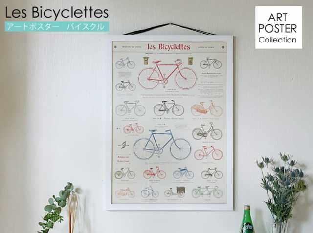 アートポスター Bicyclettes(バイスクル)