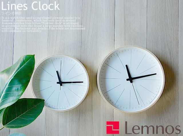 掛け時計 ラインの時計