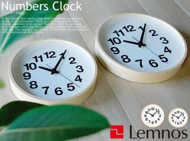 掛け時計 ナンバーの時計