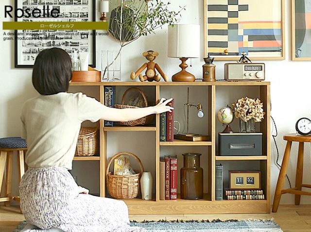 Roselle shelf(ローゼルシェルフ)