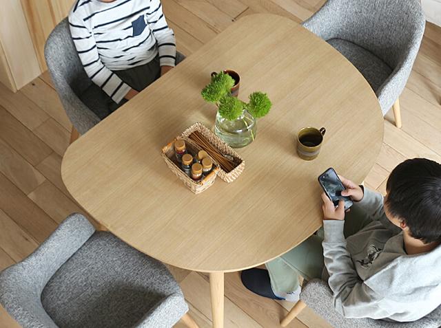 Kirario product/半円形ダイニングテーブル オロワーズ