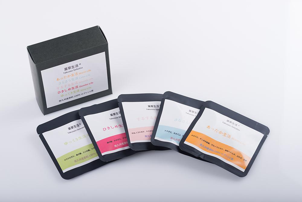 【薬草生活】 (薬草生活1.5g×3包)×5種類