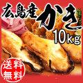 【送料無料】 広島県産冷凍牡蠣2Lサイズ 10kg (1kg×10)