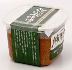 熊笹味噌・北海道産天然醸造味噌(750g/パック)