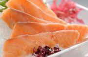 北海道産最高級鮭・鮭児(けいじ)のお刺身・ルイベの柵造り【2016 お祝いギフト推奨商品】