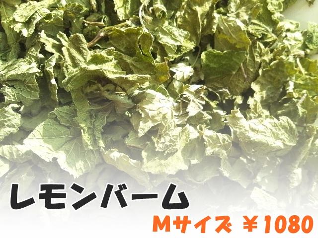 ハーブティー【レモンバーム】リーフM 北海道より減農薬有機肥料の国産ハーブのハーブティーをお届けします