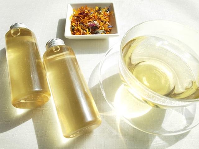 ハーブティー【化粧水になるハーブティー さっぱりつるすべ肌】リーフL 12g 北海道より減農薬有機肥料の国産ハーブのハーブティーをお届けします