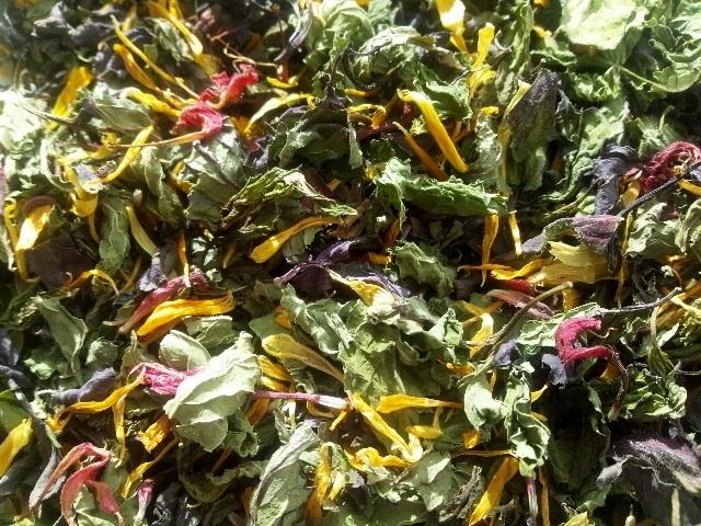★20%OFF★ハーブティー【ミントパーティー】リーフL 北海道より減農薬有機肥料の国産ハーブのハーブティーをお届けします