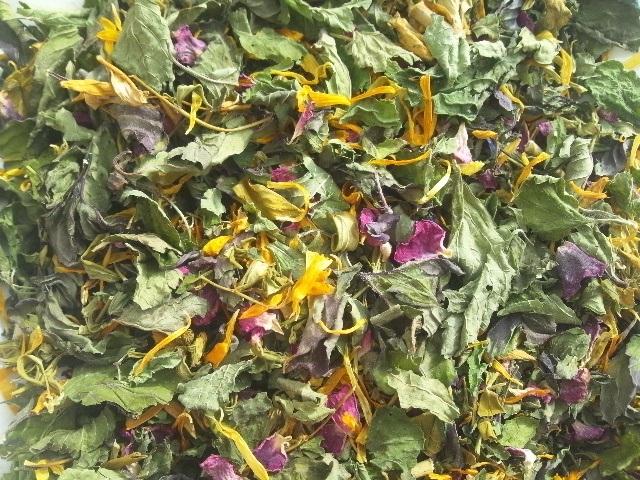 ★20%OFF★ハーブティー【ハッピーデイズ】リーフL 北海道より減農薬有機肥料の国産ハーブのハーブティーをお届けします