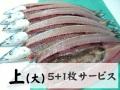 【上】新物 とろ秋刀魚 /5枚+1枚サービス