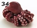 34) 蒸蛸 (タコ) 刺身用 1尾