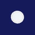 ホワイトレースペーパー丸4号 500枚入(100枚×5袋)