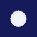 ホワイトレースペーパー丸5号 500枚入(100枚×5袋)