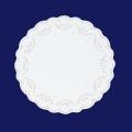 ホワイトレースペーパー丸12号 500枚入(100枚×5袋)
