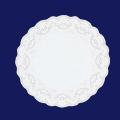 ホワイトレースペーパー丸14号 500枚入(100枚×5袋)