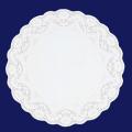 ホワイトレースペーパー丸16号 500枚入(100枚×5袋)