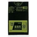 ゴミ袋(ポリ袋) 20L 黒 10枚入×60袋