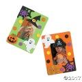[12個組]【子ども工作キット:ハロウィン H-16】 Design-A-Halloween フォトフレームマグネットキット 12個組