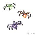 [12個組]【子ども工作キット:ハロウィン H-06】ハロウィン ビーズ スパイダーリングキット