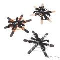 [12個組]【子ども工作キット:ハロウィン H-11】ハロウィン クモの巣 工作キット