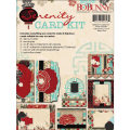 【カードメイキングキット】bo bunny - serenity card kit(セレニティ カードキット)