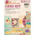 【カードメイキングキット】bo bunny - ambrosia card kit(アンブロージア カードキット)