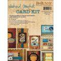 【カードメイキングキット】bo bunny - weekend market card kit(ウィークエンドマーケット カードキット)