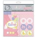 【カードメイキングキット】baby girl card kit(ベビーガール カードキット)