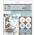 【カードメイキングキット】thank you card kit(サンキュー カードキット)