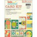 【カードメイキングキット】bo bunny - hello sunshine card kit(ハローサンシャイン カードキット)