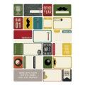 【スクラップブッキングキット】project life [themed cards] dad(プロジェクトライフ【テーマカード 40枚】ダッド #380250)
