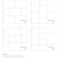 【スクラップブッキング】project life small variety pack 6(プロジェクトライフ【12x12インチ プロテクター】スモールバラエティパック6 - 12枚入 #380263)