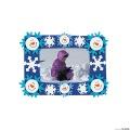 [12個組]【子どもクリスマス工作キット06】 スマイルスノーマン フォトフレーム マグネットキット