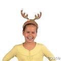 [12個組]【子どもクリスマス工作キット17】クリスマス トナカイハット ステッカーキット